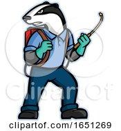 Badger Pest Control Mascot