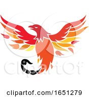Phoenix With Scorpion Tail Icon