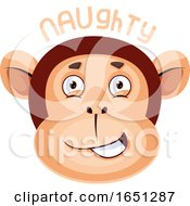 Monkey Is Feeling Naughty by Morphart Creations