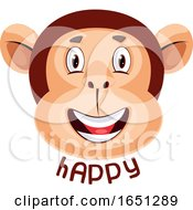 Monkey Is Feeling Happy by Morphart Creations