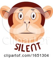 Monkey Is Silent by Morphart Creations