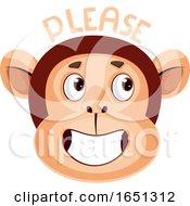 Monkey Is Saying Please