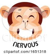 Monkey Is Feeling Nervous
