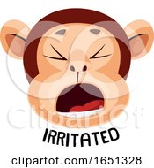 Monkey Is Feeling Irritated