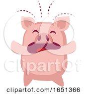 Pink Pig Crying