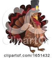 Brown Pilgrim Turkey by Morphart Creations