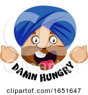 Muslim Guy Feeling Damn Hungry