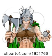 Viking Female Gladiator Golf Warrior Woman