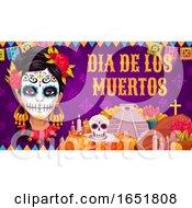 Dia De Los Muertos Day Of The Dead Design by Vector Tradition SM