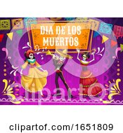 Dia De Los Muertos Day Of The Dead Design by Vector Tradition SM
