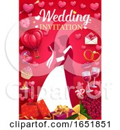 Poster, Art Print Of Wedding Invitation Design
