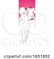 Poster, Art Print Of Wedding Gown Banner