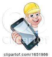 Handyman Or Mechanic Phone Concept