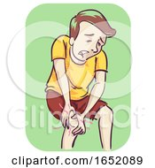 Man Stiffness Illustration