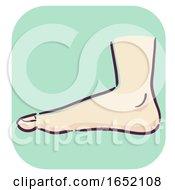 Symptoms Flat Footed Feet by BNP Design Studio