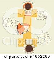 Kids Alphabet School Imagination Illustration