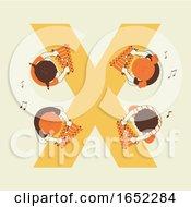 Kids Alphabet School Xylophone Illustration