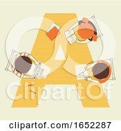 Kids Alphabet School Alphabet Illustration