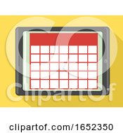 06/06/2019 - Digital Calendar Tablet Illustration