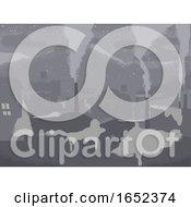 Poster, Art Print Of Eco Crisis Smog Snow City Background Illustration