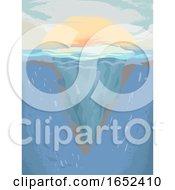 Ocean Warming Illustration