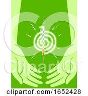 Hands Reiki Energy Symbol Illustration