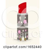 Lipstick Building Illustration