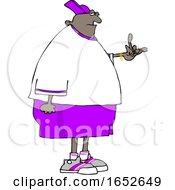 Cartoon Chubby Gangster