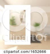 Interior Design Brochure Cover Template Background