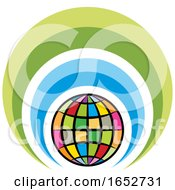 Colorful Globe Icon