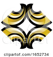Gold And Black Design