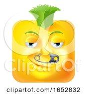 Poster, Art Print Of Punk Mohawk Emoji Emoticon Icon Cartoon Character