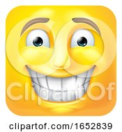 Poster, Art Print Of Smiling Emoji Emoticon Icon 3d Cartoon Character