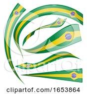 Brazilian Flag Banners