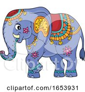 Cute Indian Elephant