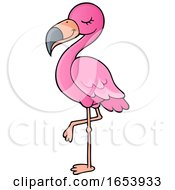 Cute Pink Flamingo
