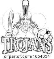 Spartan Trojan Gladiator Soccer Warrior Woman