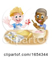 Cartoon Boy Bakers