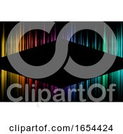 Poster, Art Print Of Business Card Template With A Modern Spectrum Coloured Design