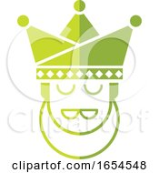 Green King Head