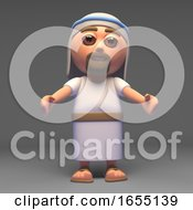 Holy Jesus Christ The Messiah Beckons Towards You 3d Illustration