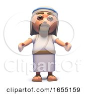Jesus Christ The Saviour With Arms Beckoning 3d Illustration