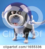Poster, Art Print Of Cool Puppy Dog In Spacesuit