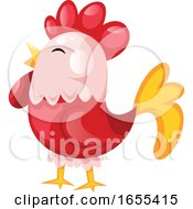 Poster, Art Print Of Hen As A Symbol For Chinese New Year