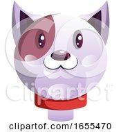 Simple Cartoon Cat Vector Illustration by Morphart Creations