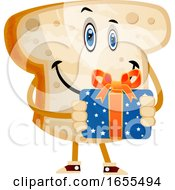Gift Bread Illustration Vector by Morphart Creations