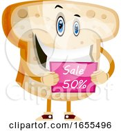 Bread On Sale Illustration Vector by Morphart Creations