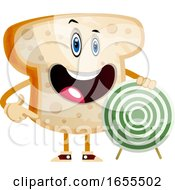 Target Bread Illustration Vector by Morphart Creations