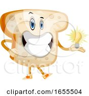 Poster, Art Print Of Idea Toast Illustration Vector