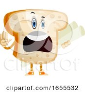 Employed Bread Illustration Vector